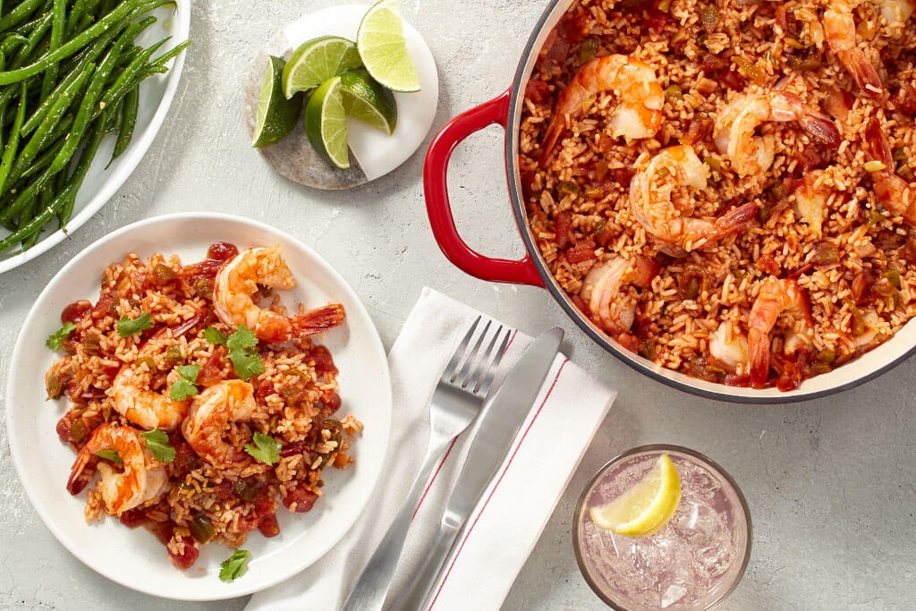 15-Minute Southwest Shrimp and Rice