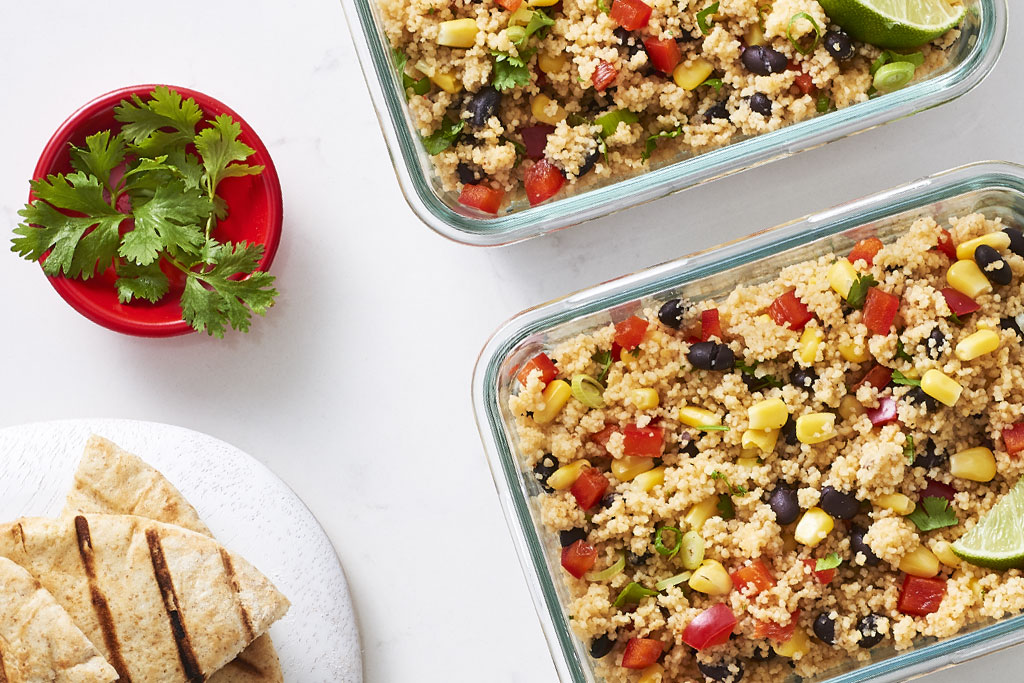 Spicy Southwestern Couscous Salad