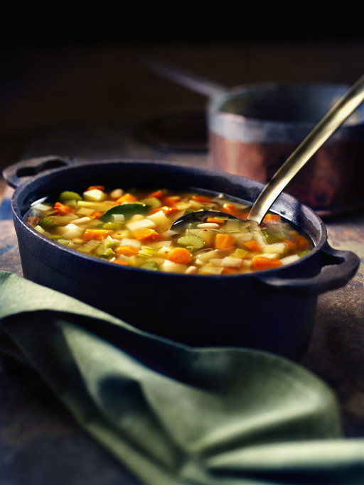 Winter Vegetable Bean Soup