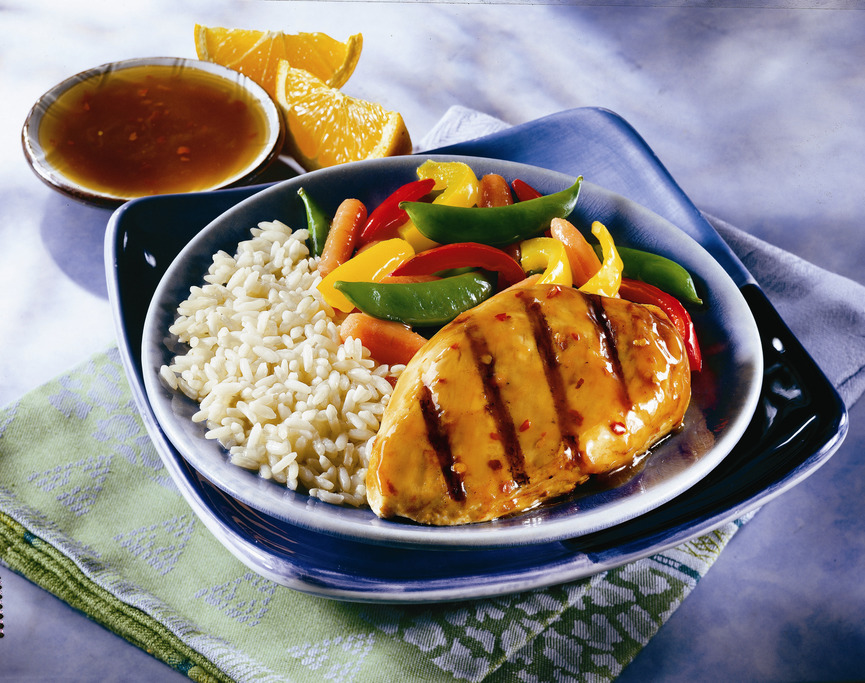 Soy Glazed Grilled Chicken