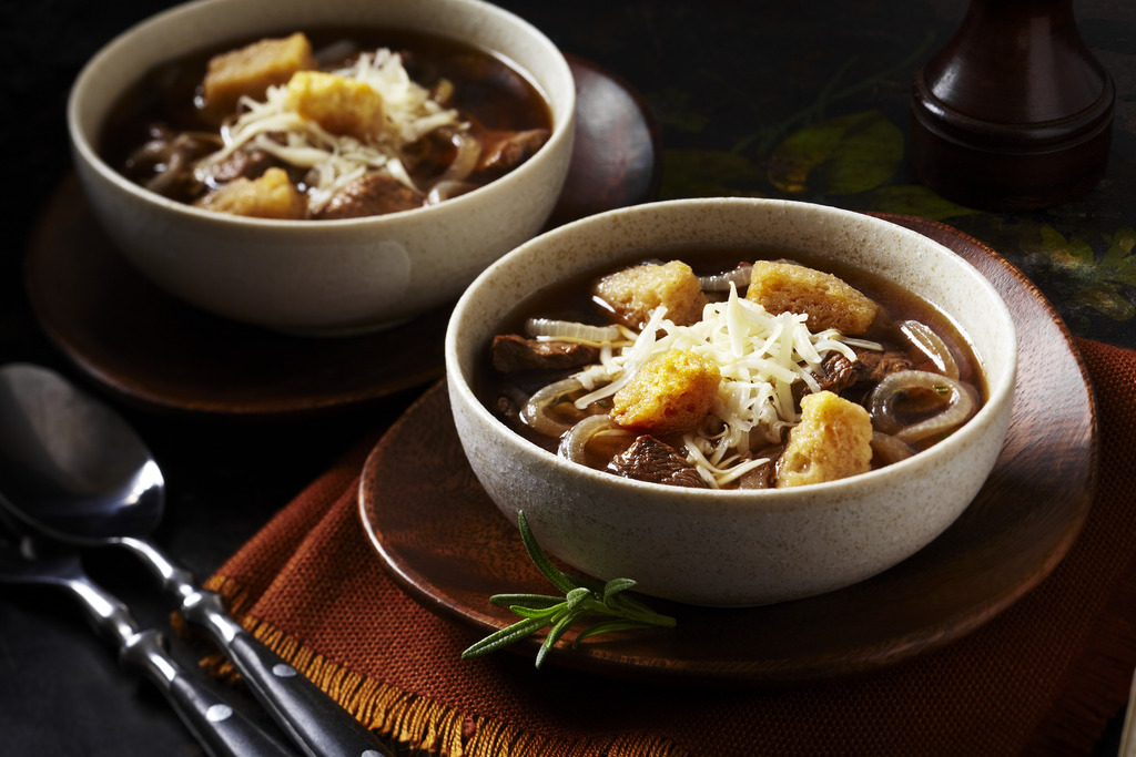 Hearty Beef Onion Soup