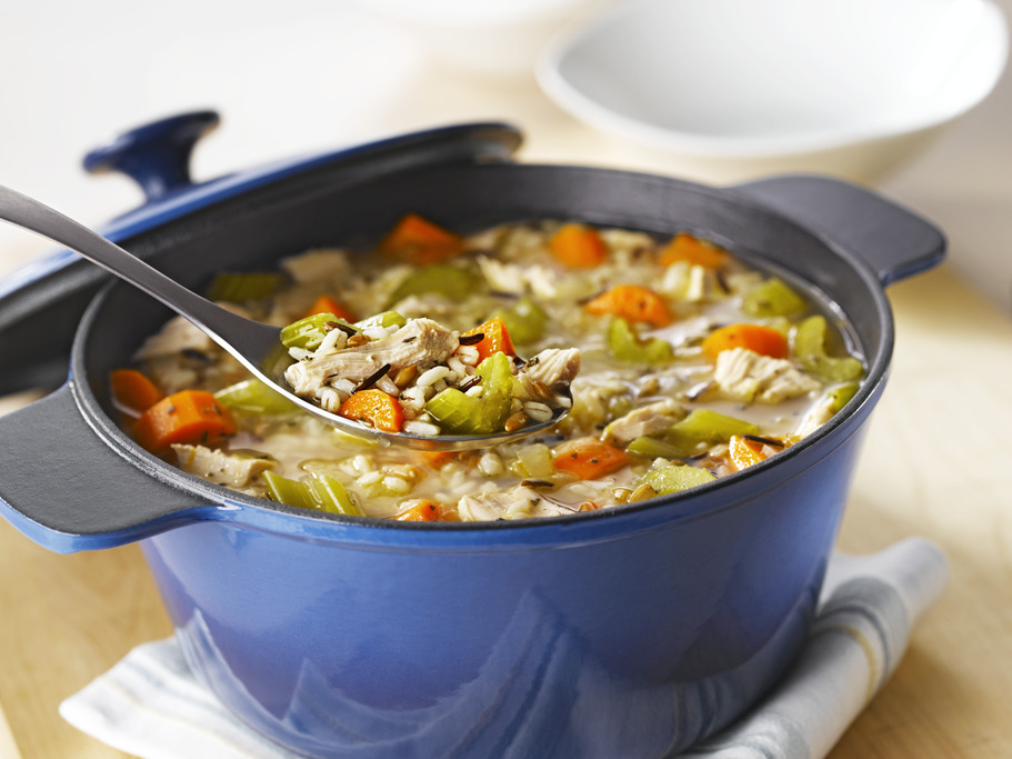 Turkey and Seven Grain Soup