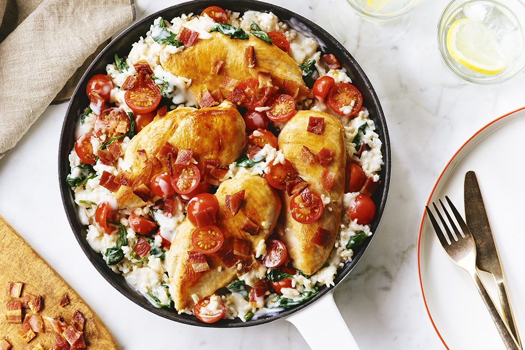 BLT Chicken Skillet