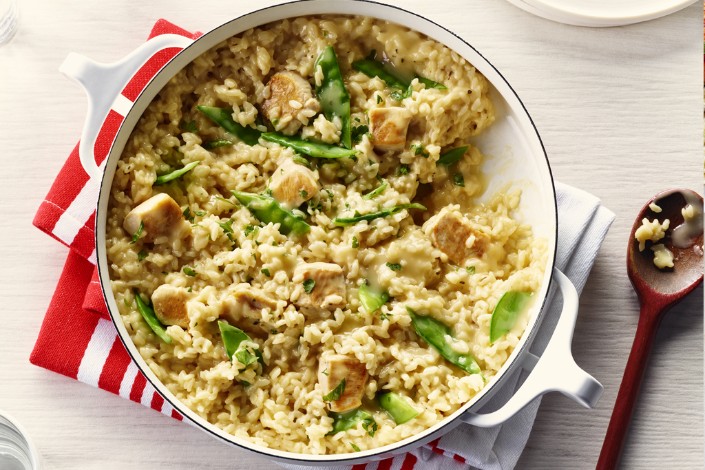 Easy Low-Sodium Chicken Risotto