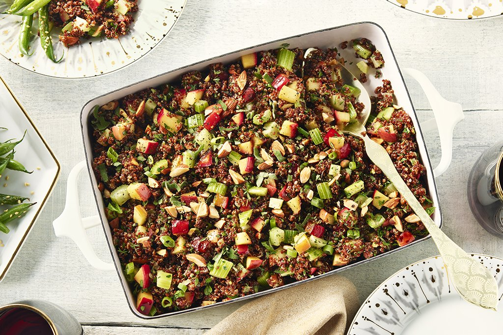 Apple and Fennel Quinoa Stuffing