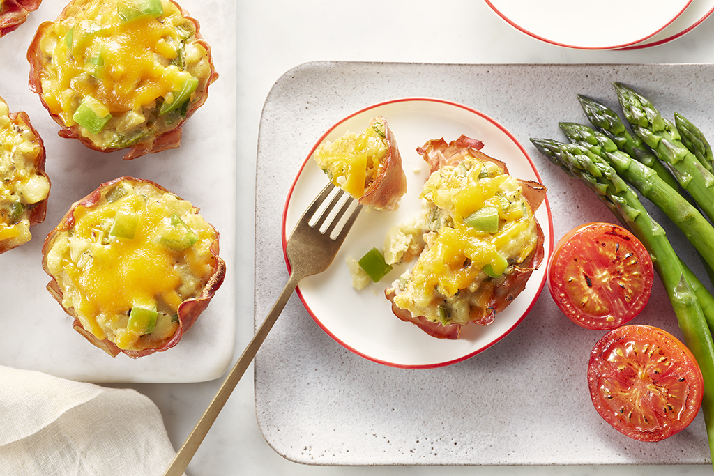 Ham and Cheese Brunch Cups