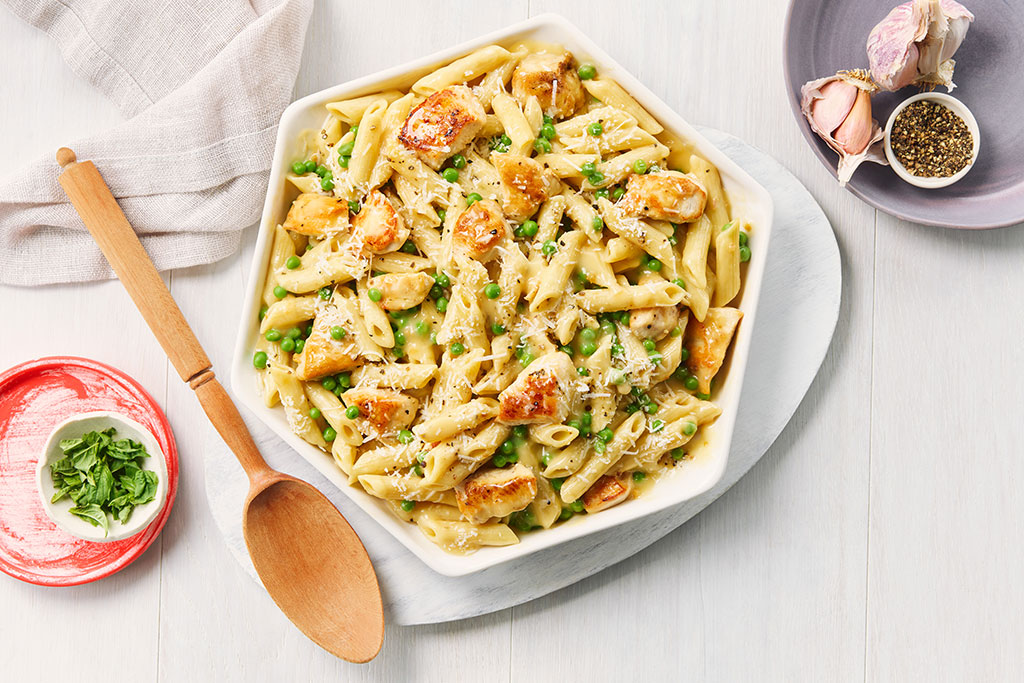Parmesan Chicken Penne