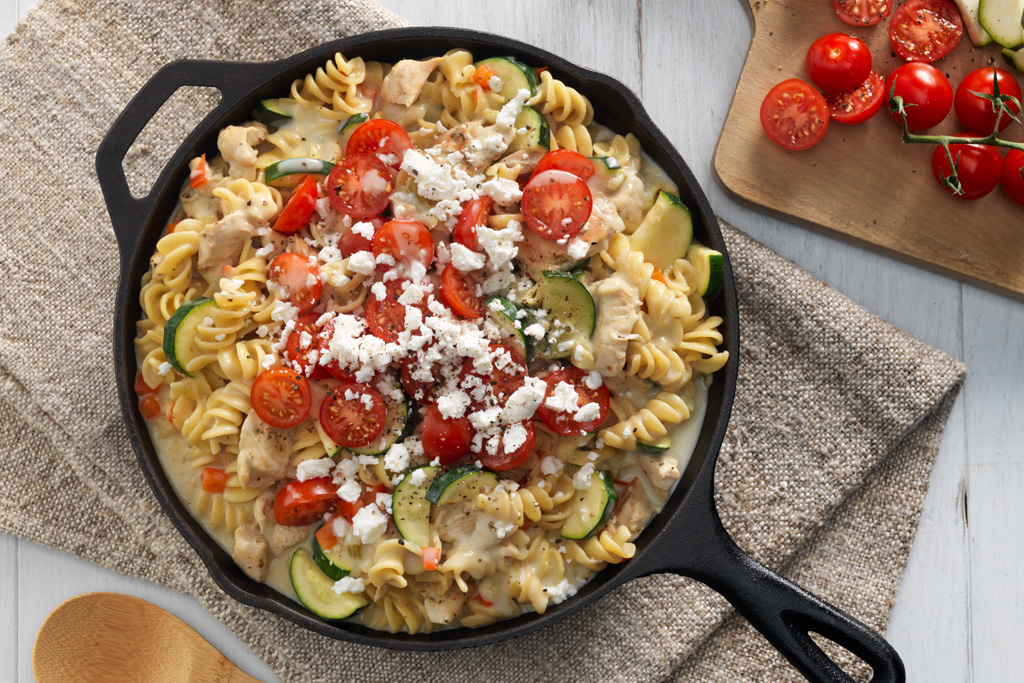 One-Pot Greek Chicken Rotini