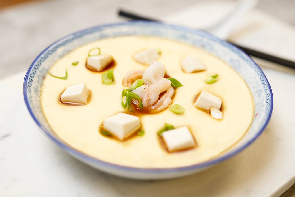 Creamy Steamed Eggs