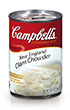 (10 1/2 ounces) Campbell's® Condensed New England Clam Chowder