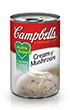 Campbell's® Healthy Request® Condensed Cream of Mushroom Soup