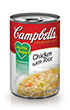 Campbell's® Healthy Request® Condensed Chicken with Rice Soup
