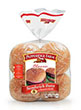 Pepperidge Farm® Sesame Topped Hamburger Buns, split