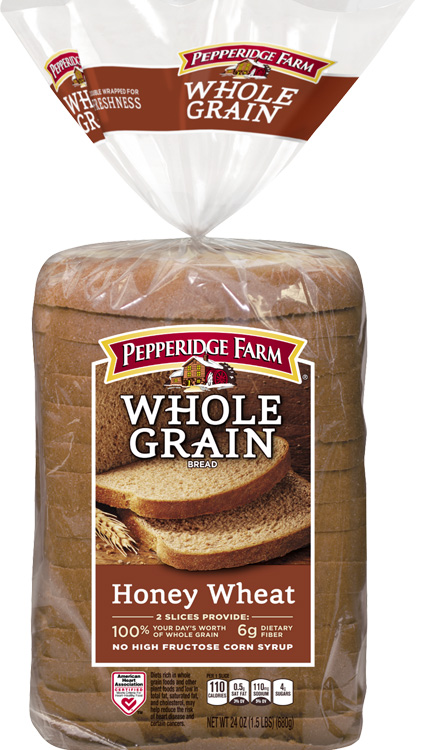 Pepperidge Farm® Whole Grain Honey Wheat Bread, crusts removed and cut into cubes (about 3 cups)