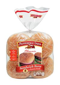 Pepperidge Farm® Classic Sandwich Buns with Sesame Seeds