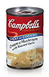 Campbell's® Condensed Cream of Mushroom with Roasted Garlic Soup