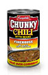 (19 ounces) Campbell's® Chunky™ Firehouse - Hot & Spicy Beef & Bean Chili