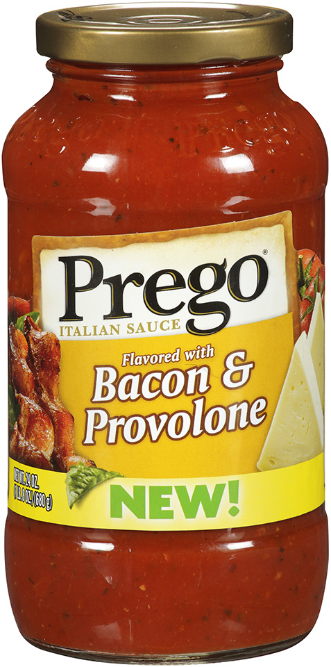 Prego® Flavored with Bacon & Provolone Italian Sauce