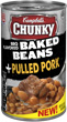 (20.5 ounces) Campbell's® Chunky™ BBQ Flavored Baked Beans + Pulled Pork