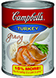 (13.8 ounces) Campbell's® Turkey Gravy<strong> or </strong>1 3/4 cups Swanson® Turkey Gravy