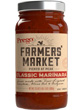of a 23.5-ounce jar Prego® Farmers' Market Classic Marinara Sauce (about 1 1/4 cups)