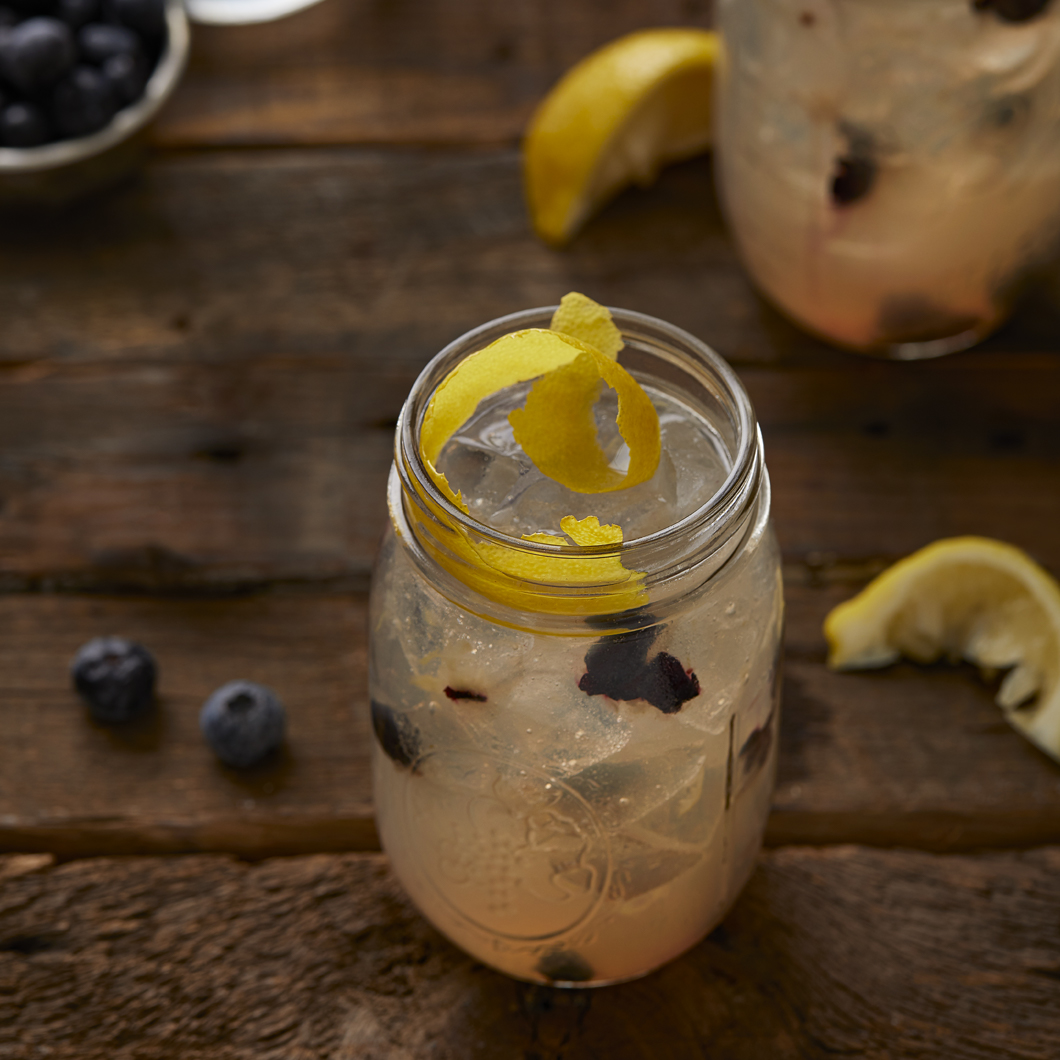 Blueberry Acai Spiked Lemonade