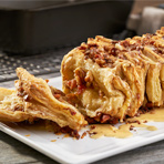 Pull-Apart Loaf with Maple Bacon