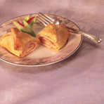 Ham and Swiss Chicken in Pastry