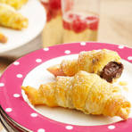 Chocolate Crescent Wraps