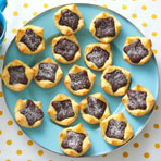 Fudgy Brownie Tartlets