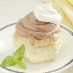 Pudding Pastry Shells