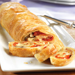 Vegetable Cheese Strudel