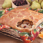Pear & Cranberry Pot Pie