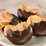 Chocolate Dipped Palmiers