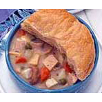Homestyle Chicken Pot Pie with Ham