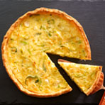 Leek and Brie Tart