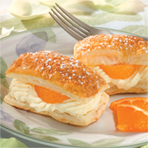 Napoleons with Ginger Cream & Mandarin Oranges