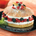 Triple Berry Shortcake