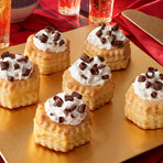Toffee Cream Shells