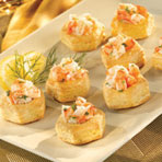Shrimp Scampi Cups