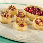 Mini Caramelized Apple & Cranberry Gratin Cups