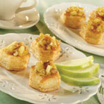 Apple Walnut Cups
