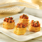 Brandy Braised Kielbasa Cups