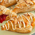 White Chocolate-Almond Turnovers