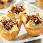 Honeyed Fig, Pancetta & Blue Cheese Tartlets