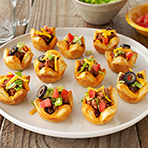 Party Taco Tartlets