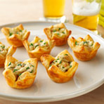 Onion Potato Tartlets