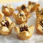 Hazelnut Chocolate Caramel Blossoms