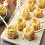 Baked Brie Lollipops