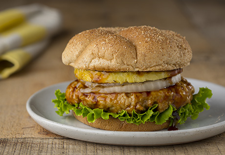 Chicken Teriyaki Burgers
